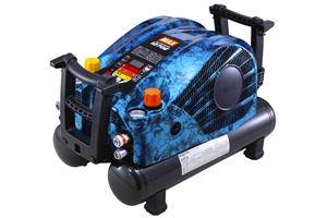 マックス,高圧エアコンプレッサ,限定モデル,ブルー