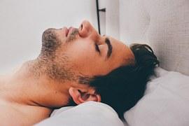 free画像,男性,眠る