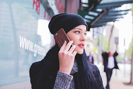 free画像,携帯電話,女性