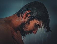 free画像,シャワー,男性