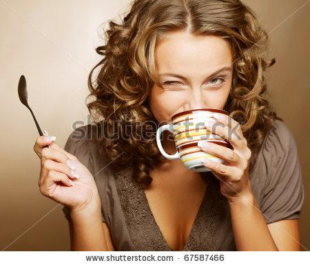 free画像,コーヒー,スプーン,女性