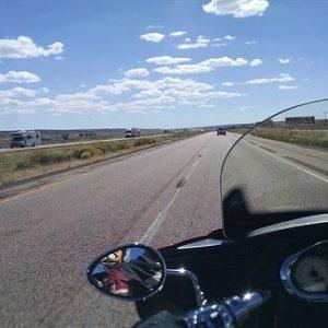 free画像,バイク旅,広い道路
