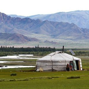 free画像,モンゴル,パオ