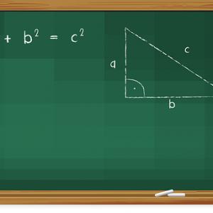 free画像,ピタゴラスの定理ピタゴラスの定理,黒板