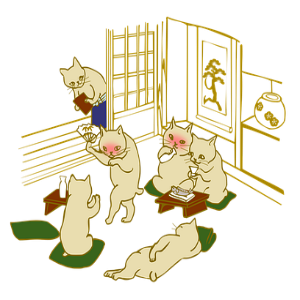 free画像,猫,宴会