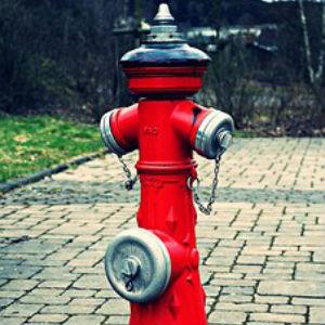 free画像,赤い消火栓