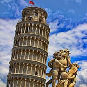 free画像,ピサの斜塔