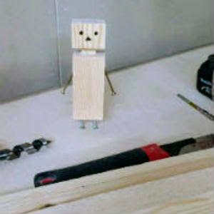 line画像,木人形,ダンボー