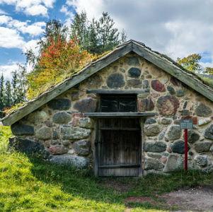 free画像,石造り家,スウェーデン