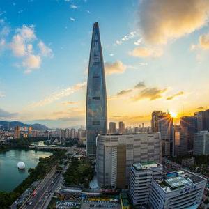 free画像,韓国ロッテタワー