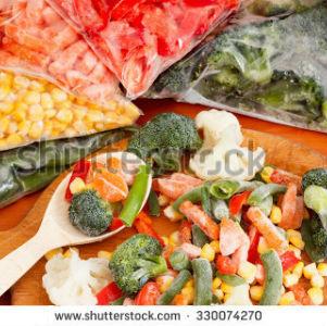 free画像,冷凍野菜,カラフル,スプーン