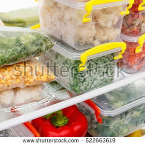 free画像,冷凍食品,冷凍庫,タッパー