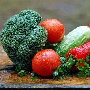 free画像,新鮮野菜,ブロッコリートマト他
