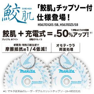 新製品,マキタ,丸ノコ,鮫肌