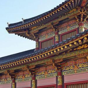 free画像,韓国宮殿,極彩色
