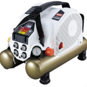 新製品マックス,高圧エアコンプ,限定色,ホワイトゴールド