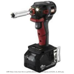 新製品MAX,型枠用インパクト,赤黒
