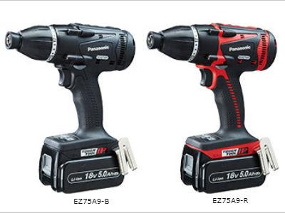 新製品パナソニック,EZ75A9インパクトドライバー,黒赤