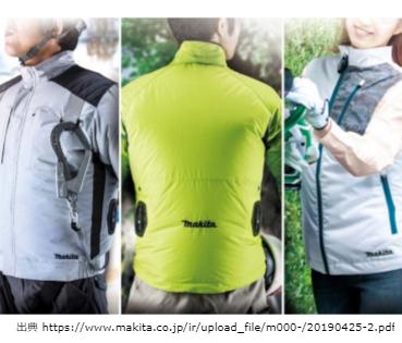 新製品マキタ,ファンジャケット01,3種,